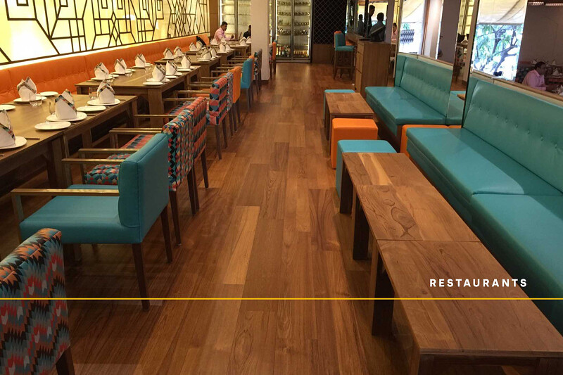 Restaurants - Lounge Teak